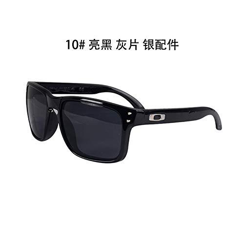 Burenqiq Las Gafas Hombres de Libre de Aire Gafas Negro de de de los Las Deportes Mercurio de Sol al Sol Bright Brillante Sol conducen los ash Gafas Que black vw8rqRv