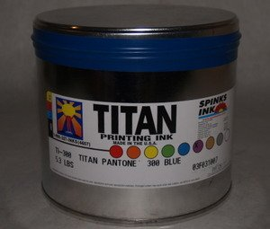 Titan 300 Pantone Blue 5.3 Lb.