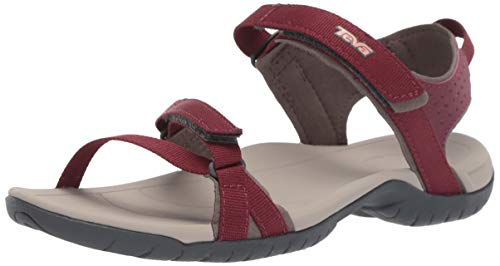 Teva Women's W Verra Sandal, Port 9 Medium US ()