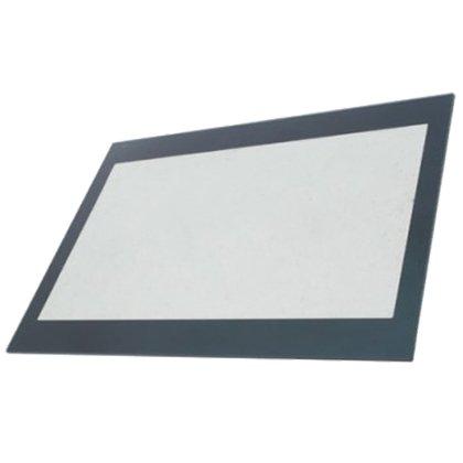 SPARES2GO Inner Main Door Inner Glass Panel for Logik Oven 520mm X 398mm