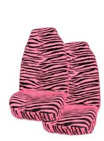 zebra print bucket seat covers - 8