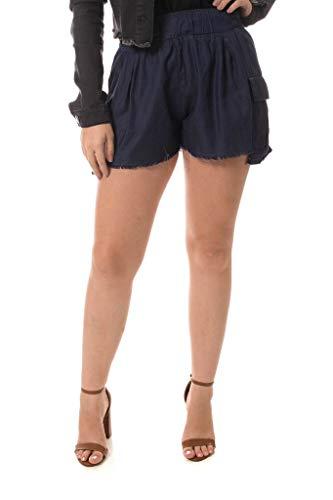 Shorts Jeans Denuncia Sport Azul 42