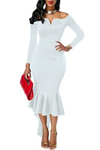 high low classy dresses - 1