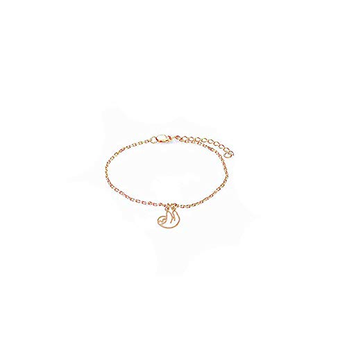 Gold Snail Charm - CHUYUN 3 Colors Hollow Design Snail Necklace Tiny Animal Pendant Sloths Jewelry Cute Animal Charm Necklace (Gold Sloth Bracelet)