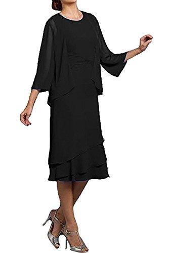 Ivydressing - Vestido - trapecio - para mujer negro