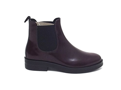 beatles stivaletto A7102 donna 20248 pelle Soldini bordo qTEtvq