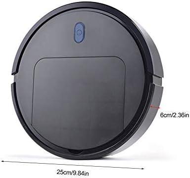 Mdsfe Robot de Balayage aspirateur Trois-en-Un Balai de vadrouille Machine Outil de Nettoyage Domestique USB de Charge des Articles ménagers - Noir, A9