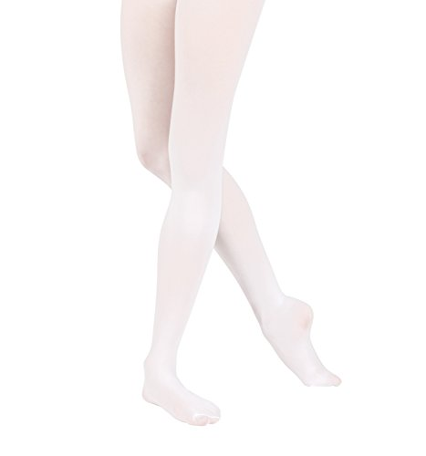 Adult Footed Tights with Smooth Self-Knit Waistband,T5415COFS,Coffee,Small