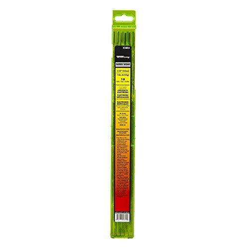 Forney 42801 Superwear Heavy Abrasion Welding Rod, 5/32-Inch, 1-Pound
