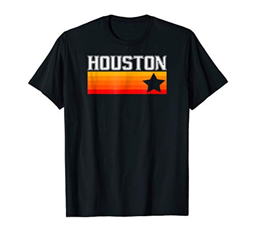 Houston Baseball Throwback Retro Astro Stripe 2018 (Houston Astros Clothes)