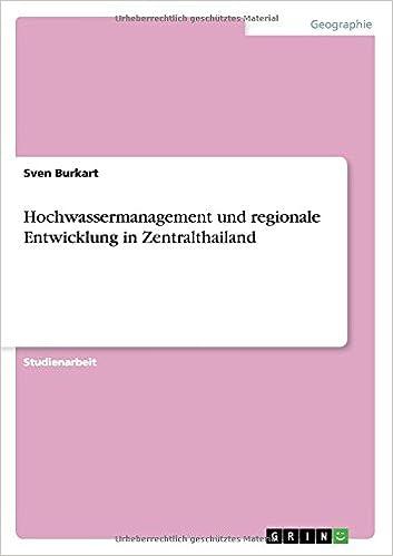 Book Hochwassermanagement und regionale Entwicklung in Zentralthailand