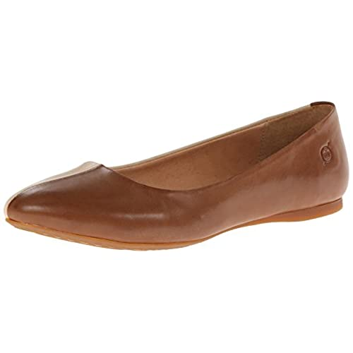 Born Women's Fortuna Ankle-High Leather Flat Shoe hot sale