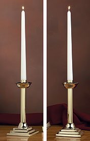 Set Of 2 Altar Candle Holders by Christian Brands