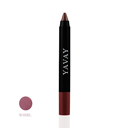 YAVAY VELVET LIP PENCIL WHIRL Natural Lip Crayon Rouge Matte Nonstick Cup Lipstick