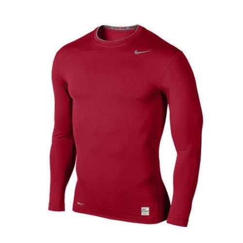 varsity Core Pro flint Nike Grey Red Homme shirt Rouge Gris Pour T Multicolore qAOwC5Ozx