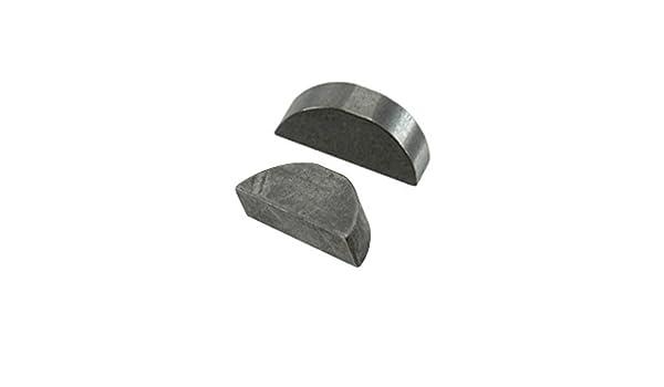 3//32 X 5//8 Imperial 71103#4 Woodruff Key Per Package Of 25