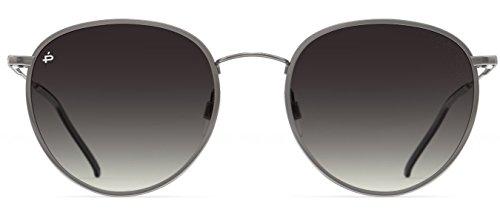 PRIVÉ REVAUX Places We Love Collection''The Patriot'' Polarized Designer Round Sunglasses RandM Colab by PRIVÉ REVAUX