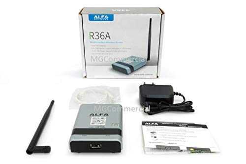 ALFA R36A Portable Wireless 802.11n WiFi USB Router for AWUS036NH AWUS036NEH R36 by ALFA Networks