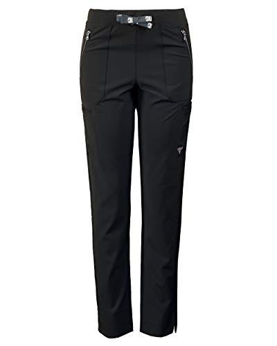 - Medgear Women's Superflex Activewear Stretch Scrub Pant, Slim Leg & Zipper Pockets (S, Black)