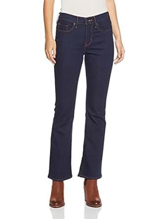 Levi's Women's 315 Shaping Boot Cut Jeans, Splash Blue, 34 32