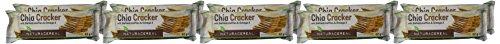 Chia Cracker mit Ballaststoffen & Omega 3, 1er Pack (10 x 62 g)