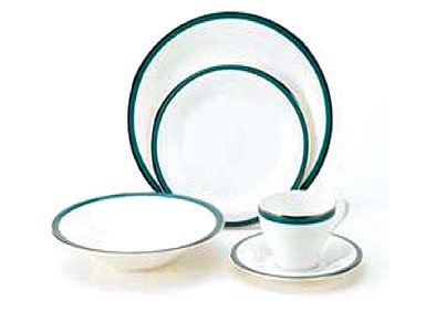 Mikasa Connections Teal Blue 5 Piece Place Setting
