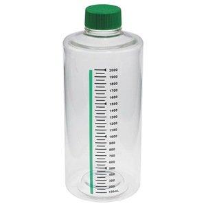 Roller Bottle, 2000mL, Vent, PK 12