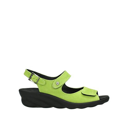 90750 Sandali 120 Nubuck Lime 3125 Donna Wolky Fpv1Ax
