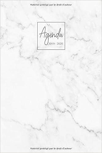 Amazon.com: Agenda 2019-2020: Agenda Scolaire de Juillet ...
