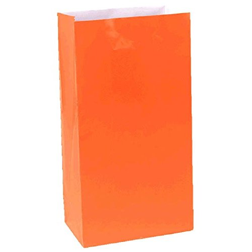 Packaged Paper Bags | Orange Peel | Party Accessory -