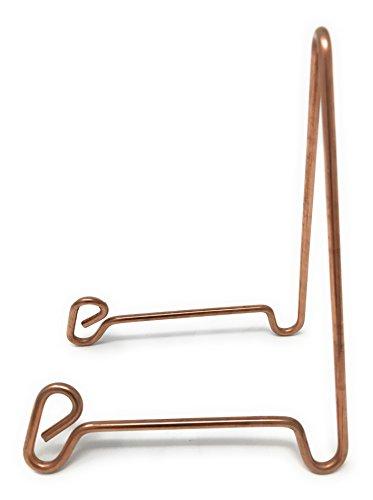 Bowl Stand, Medium, Copper Colored Steel