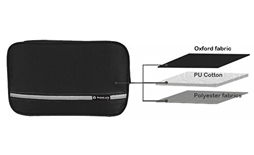 f4ed856109 Pockettrip Hanging Toiletry Kit Clear Travel BAG Cosmetic Carry Case  Toiletry (Black) - Buy Online in Oman.