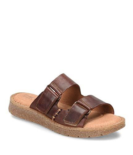 Women's Børn Dominica Sandal, Size 6 M - Rust(Ginger)