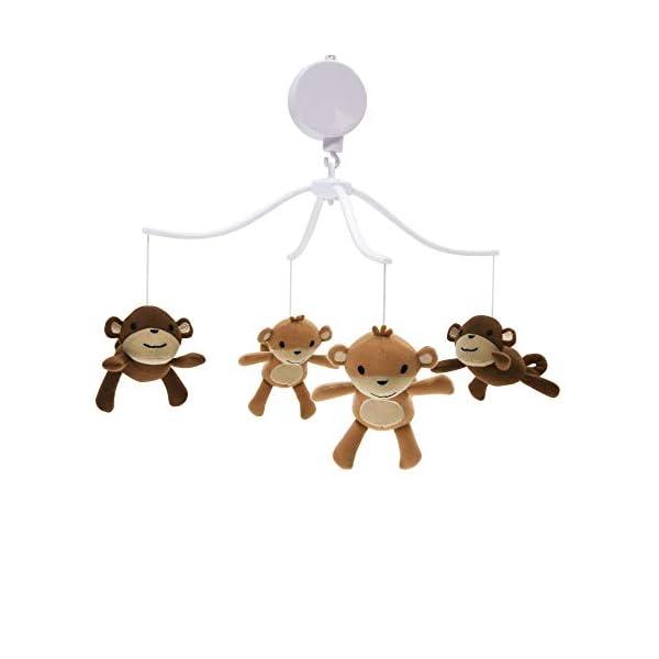 Bedtime Originals Mod Monkey Musical Mobile