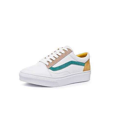Mujer Rojo Sneakers amp; Heel Spring Suede Green Comfort Verde Flat de Summer Zapatos ZHZNVX EUxqPRwfq