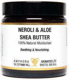 Amphora Aromatics whipped Neroli and Aloe shea butter 120ml ~ Calming and protecting thick moisturiser