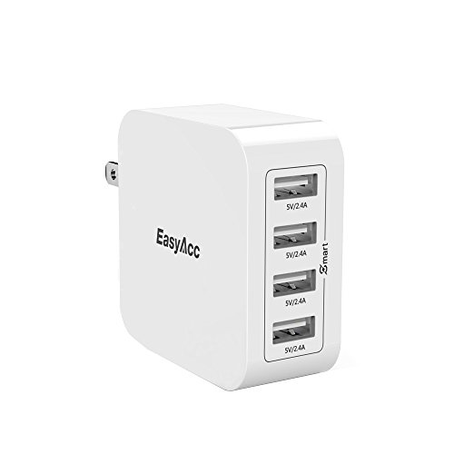 EasyAcc Charger 4 Port Foldable Technology
