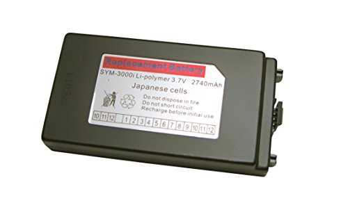 Symbol / Motorola MC3090 MC3000 Series Mobile Computers: Replacement Battery, 3.7V, for Rotating Head and Handheld by Enterprise Data Resources