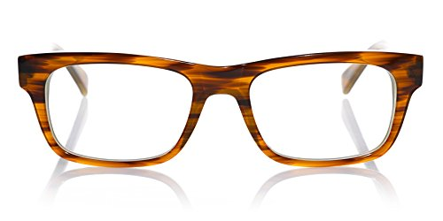 eyebobs The Style Guy All Day Reader, Light brown, Reading Glasses SUPERIOR QUALITY-because your eyes deserve the good stuff by EyeBobs