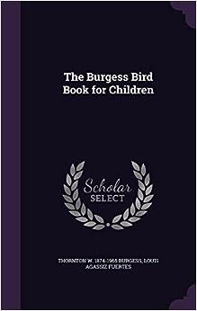 Book The Burgess Bird Book for Children