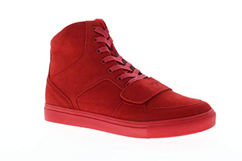 Cesario High Top - Creative Recreation Cesario X Mens Red Suede High Top Lace Up Sneakers Shoes 11