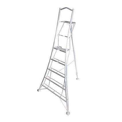 Henrys Tripod Garden Ladders with built-in Platform by Henchman - 3 00m  -3 6m  10' Ladder  All 3 Legs Fully Adjustable  Lightweight aluminium  garden