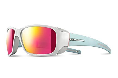 Julbo Monterosa Mountain Sunglasses - Spectron 3CF - Shiny White/Matte Mint Blue