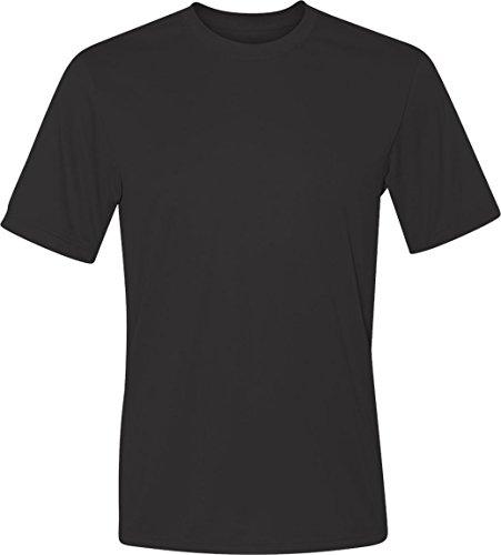 Mens Shirt Tagless Cool Black Hanes Dri 3XL T ZOwtZXWq