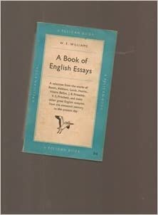 a book of english essays weeditor williams amazoncom books a book of english essays paperback