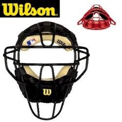 Wilson Dyna-Lite Catcher's Facemask (Scarlet)