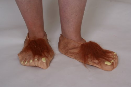 Hobbit Costumes Feet (Hobbit Feet Costume Accessory)
