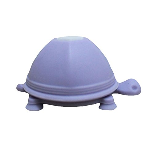 Hosaire Cell Phone Stand Turtle Silicone Cellphone Stand,Suction Cup Stand Earphone Wrap Cable Headphone Cord Winder 2-in-1 Multifunctional for All Iphone Purple
