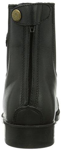 Kerbl Reitette Monaco Glattleder - Polainas / chaparreras de hípica, color negro, talla 39 Negro
