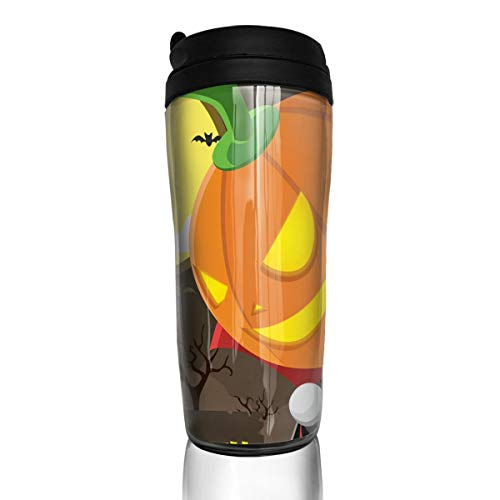 Bei Tang Coffee Cup Halloween Travel Tumbler Insulated Leak Proof Drink Containers Holder Amazing 12 Ounces